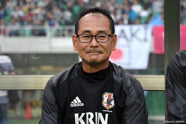 ◆画像◆U20代表監督内山篤人氏がいよいよカトちゃんにしか見えなくなってきた件