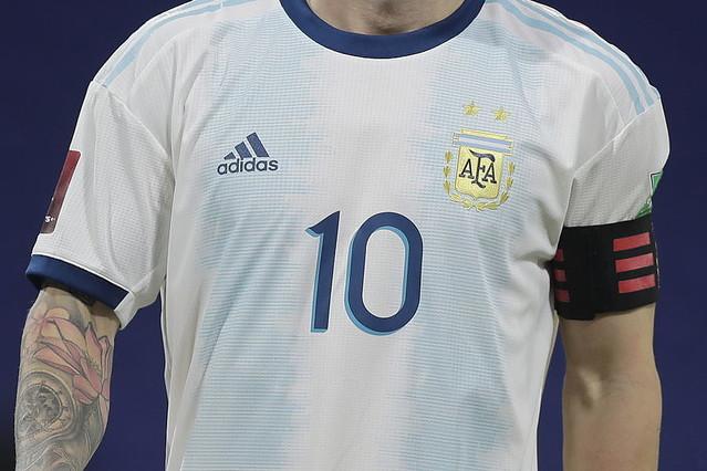 """◆悲報◆アルゼンチン代表の新ユニフォーム""""迷彩柄""""が「スキャンダル」なほど不評"""