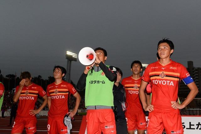 ◆悲報◆名古屋マッシモランパス…ポゼッション71.1%で完敗…革命から何も変わってない…