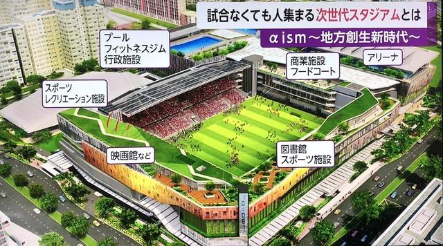 ◆Jリーグ◆ジャパネット高田社長新構想長崎次世代スタジアムが全部盛りだと話題に!