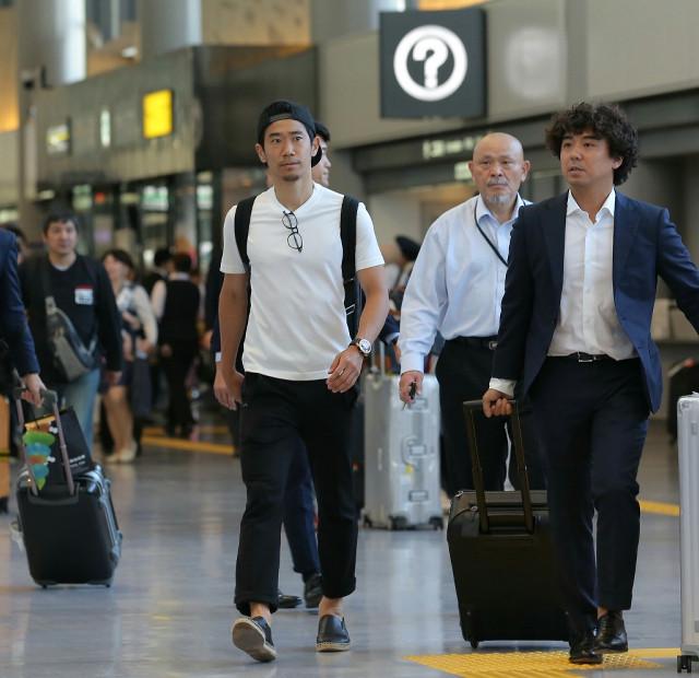 ◆日本代表◆ドルト香川が帰国「僕の中ではW杯が終わるまでがシーズン」…今季は19試合5得点