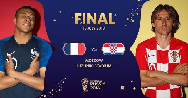◆ロシアW杯◆決勝 フランス×クロアチア スタメン発表! 仏はムバッペ・グリーズマン・ジルー先発、クロアチアはモドリッチ、ラキティッチともに先発