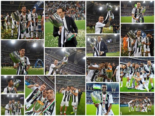 ◆伊S杯◆ユーベ3年ぶり優勝…表彰式まとめ…優勝カップなかなか離さないクリロナさん