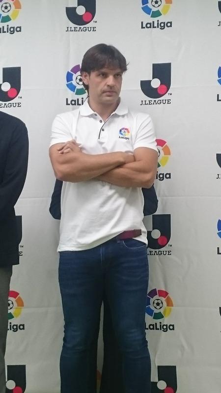 ◆画像◆元レアルのモリエンテスが来日!Jリーグを表敬訪問