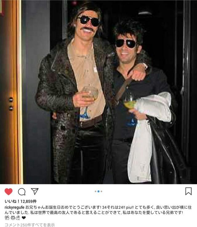 ◆画像◆クリロナさんと親友の『真夜中のカーボーイ』仮装www