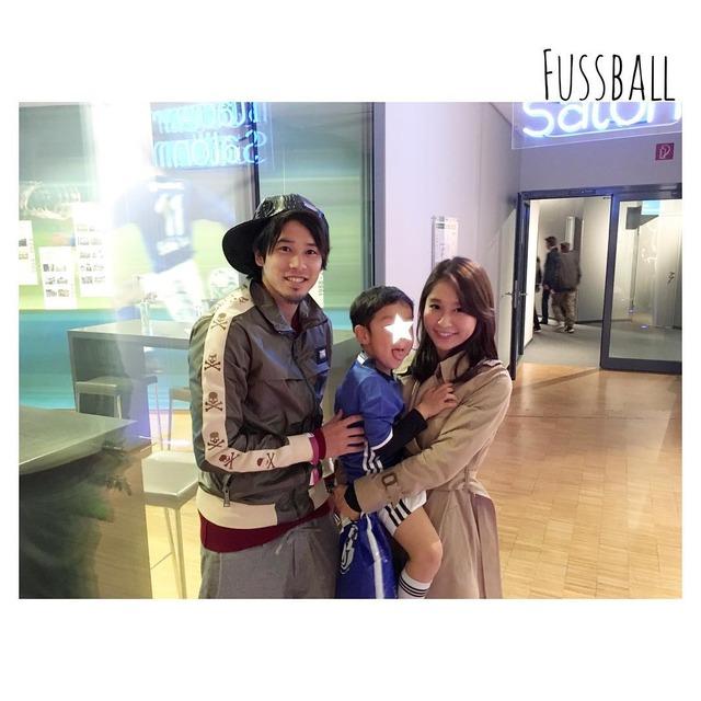 ◆画像◆ホルン権田一家がシャルケを訪ね内田篤人と権田の妻子がパシャリ!