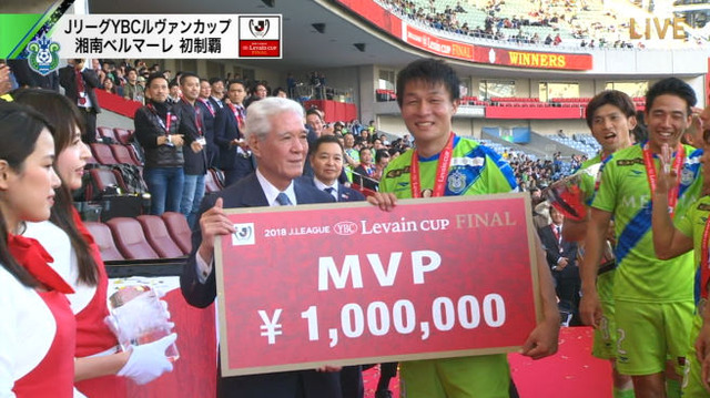 ◆画像・動画◆ルヴァン杯決勝MVP湘南DF杉岡大暉(20歳)が大ベテランにしか見えないと話題に!