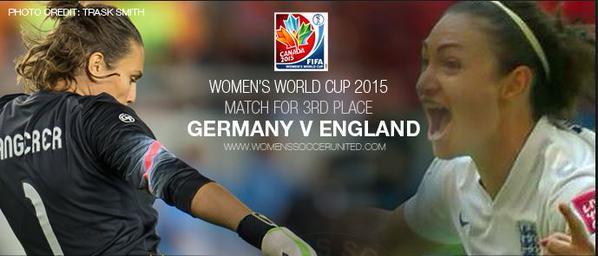 ◆女子W杯◆延長激闘、イングランドがドイツ下し3位に輝く-ハイライト-