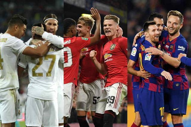 ◆ランキング◆プロスポーツSNSフォロワー数ランキング、上位10位をサッカーが独占!1位マドリー2位バルサ3位マンU