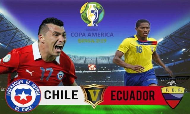 ◆Copa◆C組2節 エクアドル×チリ チリ、後半サンチェスの決勝Gで振り切り2連勝!GL首位、日本は3位維持
