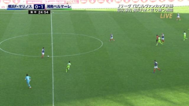◆ルヴァン杯◆CBより前でドリブル!横浜GK飯倉大樹のポジショニングがおかしすぎると話題に!