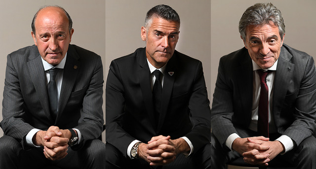 ◆画像◆Jリーグ、スペイン人監督のマフィア映画感は異常