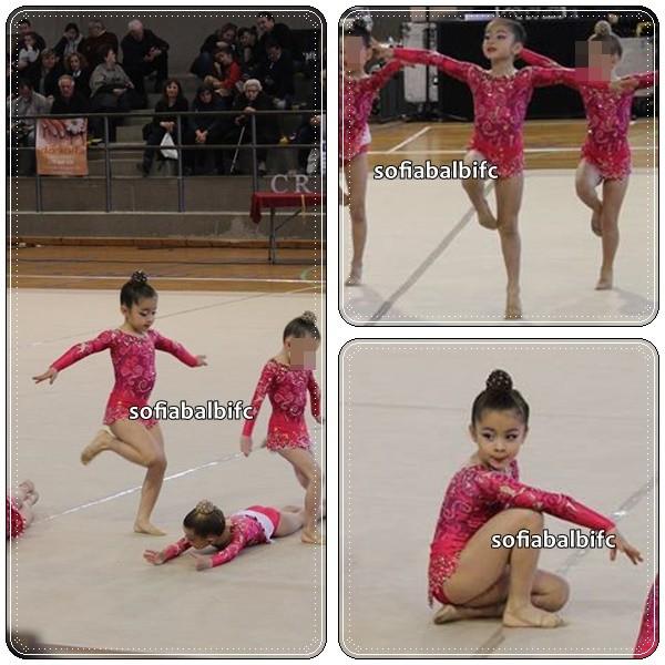 ◆画像◆バルサFWスアレスの愛娘デルフィナちゃん 新体操を始めナイスプロポーションを披露