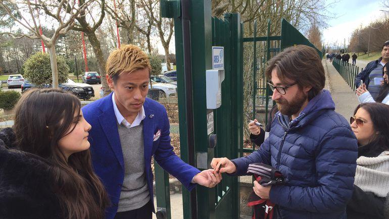 ◆ミラン本田◆ロシアメディアがミラネッロを訪れ本田を直撃!本田はCSKAについて回答拒否 by 露メディア