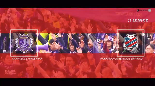 ◆J1◆第1節 広島×札幌 スタメン発表!ティーラシンとチャナティップのタイ人対決実現!