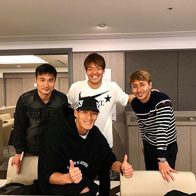 ◆画像◆いろいろあったけど試合後は槙野・西川・今野・倉田は揃ってUAEに旅立ちます!