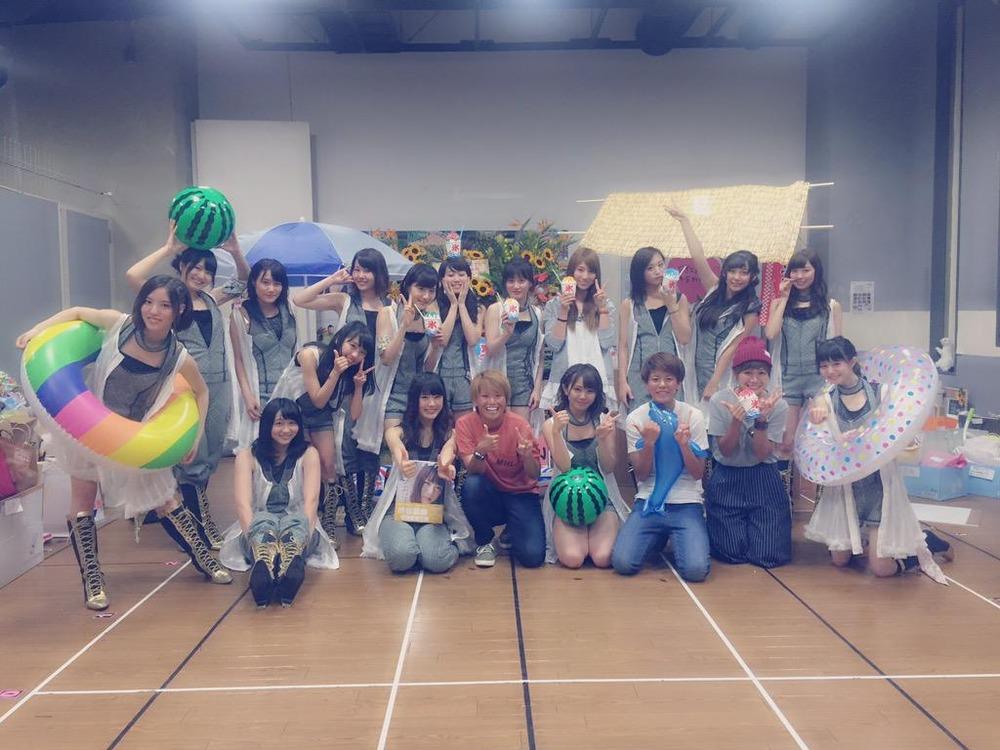 ◆なでしこ◆NMB48の生誕祭を訪れたINAC神戸の面々 仲田ポムがアイドル以上に美しいと話題に!
