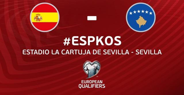 ◆W杯欧州予選◆B組3節 スペイン×コソボ スペイン3得点で危なげなく勝利!暫定首位浮上
