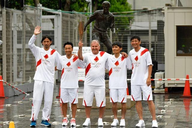 ◆Jリーグ◆五輪聖火ランナーを勤めたジーコ、サッカー界からの引退を表明