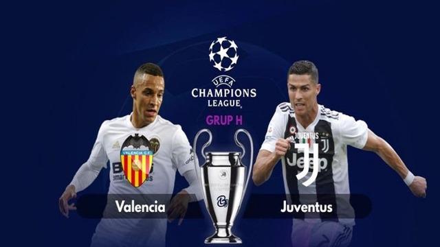 ◆UCL◆H組1節 バレンシア×ユーベ ロナウド疑惑の一発退場!PK3回主審躍動のゲームはユーベPKの2発で完封勝利!