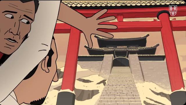 ◆悲報◆神ズラタン・イブラヒモビッチ、カトゥーンで富士(モドキ)山頂の神社で空手をさせられてしまう
