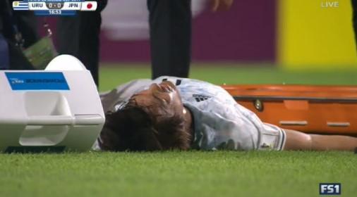 ◆U20W杯速報◆ウルグアイ×日本 前半20分過ぎFW小川航基負傷で早くも久保健英登場