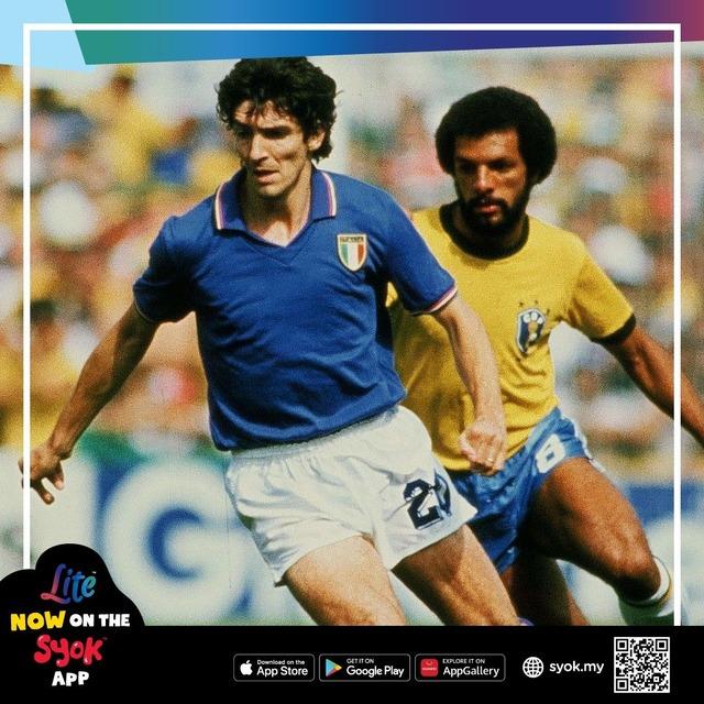 ◆訃報◆元イタリア代表FWパオロ・ロッシが64歳で死去 1982年スペインW杯の得点王
