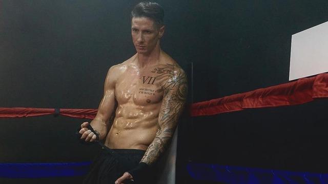 ◆画像◆リング上でボクサー姿のFトーレス師匠のかっこよさは異常