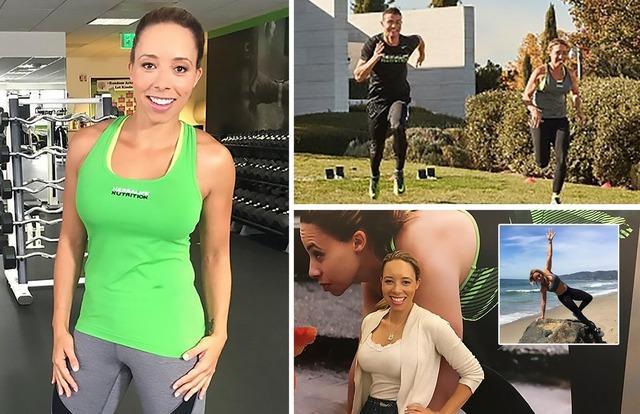 ◆画像・動画◆クリロナさんのトレーニングパートナーはナイスバディの元五輪代表美女