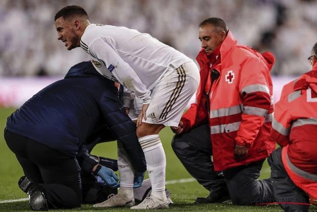 ◆悲報◆レアル・マドリーのエース、エデン・アザール、1試合出ただけで再び骨折…長期離脱へ