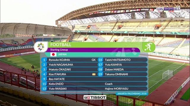 ◆アジア大会◆D組2節 日本×パキスタン 日本後半は停滞も前半の4得点で2連勝!