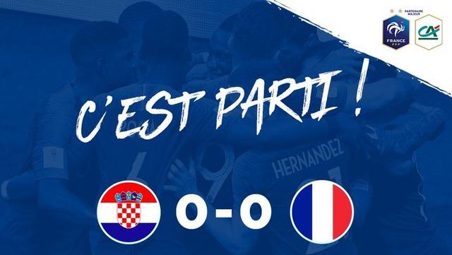 ◆UNL◆3組4節 クロアチア×フランス W杯決勝対決はフランスがエンバペのゴールで敵地で勝利!