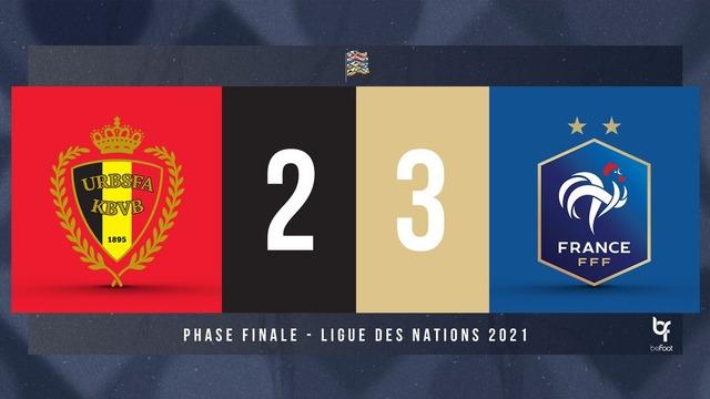 ◆お口直し◆UNL R4 ベルギー×フランス ベルギー前半2点リードも後半ベン・エンバ・テオで仏が3得点!逆転で決勝進出!