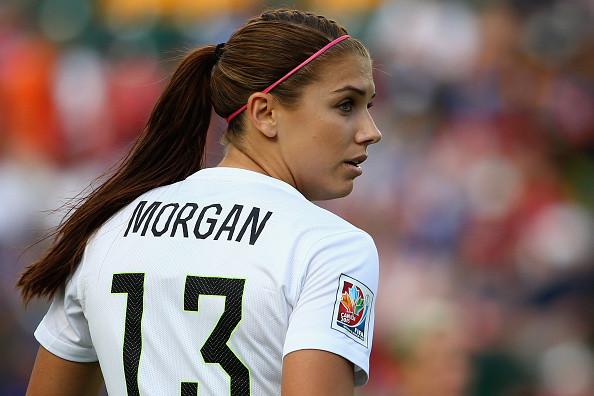 ◆女子W杯◆女子サッカー界で最も年収が多いのはアメリカ代表FWモーガン(25)で3億7000万円!byBBC