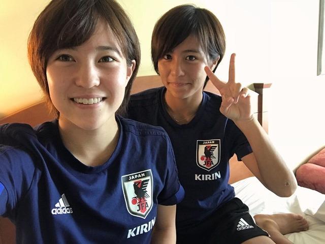 ◆画像◆なでしこジャパン、弱いならもう可愛い子だけでいいじゃないかな?