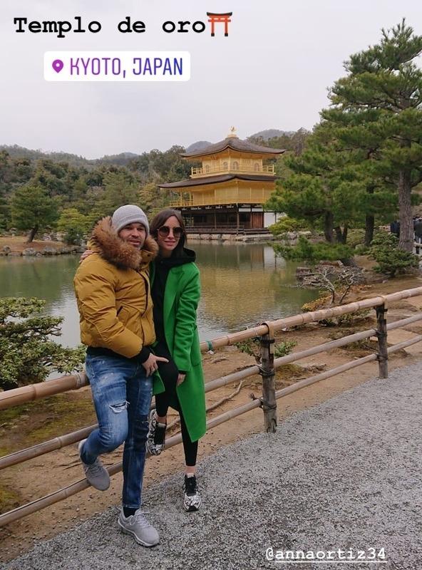 ◆J小ネタ◆イニエスタ、奥さんと一緒に金閣寺へ