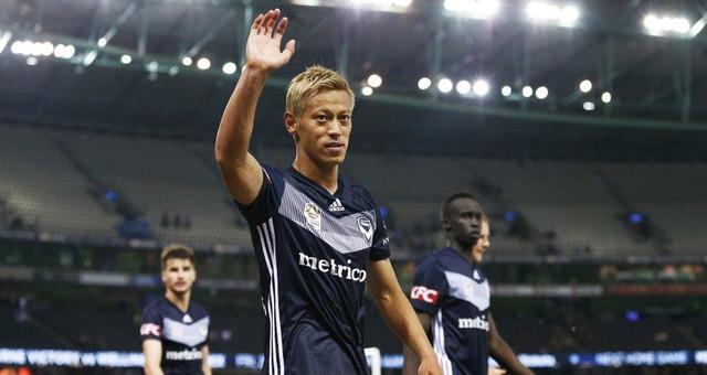 ◆動画◆本田圭佑 Aリーグファイナルステージ1回戦、FKで先制アシスト…強烈なシュートも