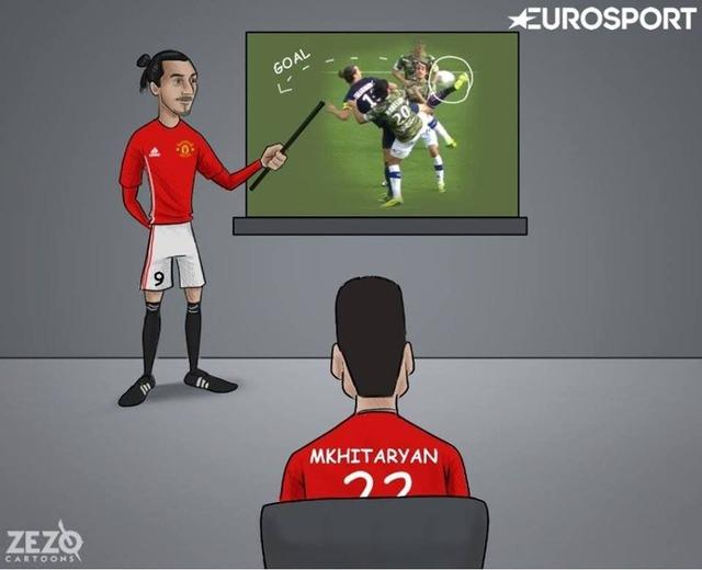 ◆画像◆ムヒタリアンのスコーピオンシュートはズラタンが育てた by EUROスポーツ
