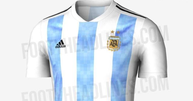 ◆画像◆アルヘン、ドイツ、コロンビア、メヒコ…ロシアW杯で着用の各国代表新ユニフォームデザインリークされる