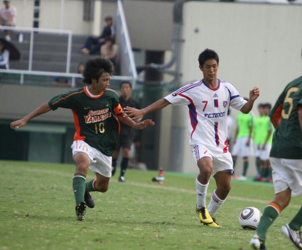 ◆代表小ネタ◆2010年青森山田vsFC東京U18 柴崎vs武藤の1vs1