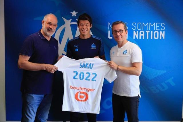 ◆リーグ・アン◆酒井宏樹、マルセイユと2022年まで契約更新…今季リーグ全試合フル出場