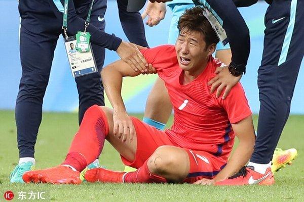 ◆悲報◆韓国代表ソンフンミン、2軍のコロンビアに挑発行為、悪癖が再び顔を出す…「呆れたジェスチャー」