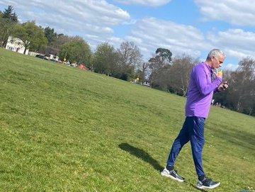 ◆悲報◆モウリーニョ監督規制無視か 複数選手と公園で練習
