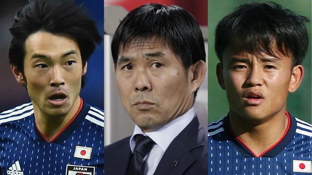 ◆日本代表◆10番は中島!コパ・アメリカに臨む日本代表の背番号が決定…前田が9番、久保は21番に