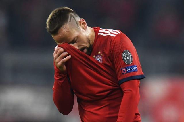 ◆悲報◆フランク・リベリ、劣化説…今期15試合出場961分ノーゴールノーアシスト