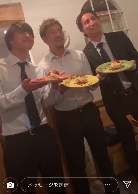 ◆悲報◆川崎F森谷賢太郎、皿に書いてある文字でまさかのインスタバレ…