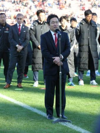 ◆Jリーグ◆J2降格の名古屋グランパス、百戦錬磨久米社長辞任へ・・・「昨日の時点で決めていた」