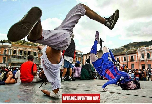 ◆画像◆イタリア人曰く・・・メッシは試合中にブレイクダンスを踊ってたね!