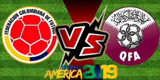 ◆Copa◆B組2節 コロンビア×カタール カタールドン引き専守防衛で粘るも88分サパタのゴールでコロンビア連勝!