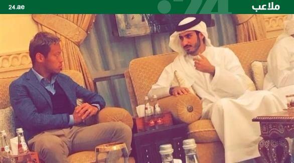 ◆画像◆本田圭佑も中東移籍?UAEで白装束と対談画像キタ━━━━(゚∀゚)━━━━!!